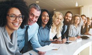 Smiling Business leaders image