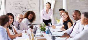 Strategic team meeting