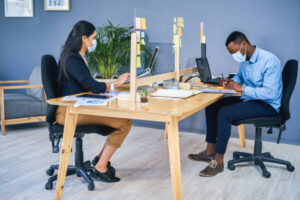 Coworking while staying safe